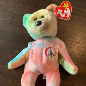 Peace TY Beanie Baby NWT